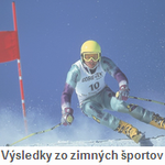 Výsledky zo zimných športov